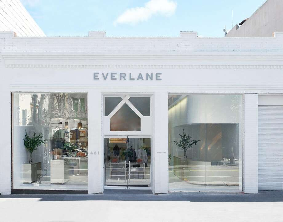Everlane's first permanent brick-and-mortar store in San Francisco opens March 3 on Valencia St. Photo: Aaron Wojack / Everlane