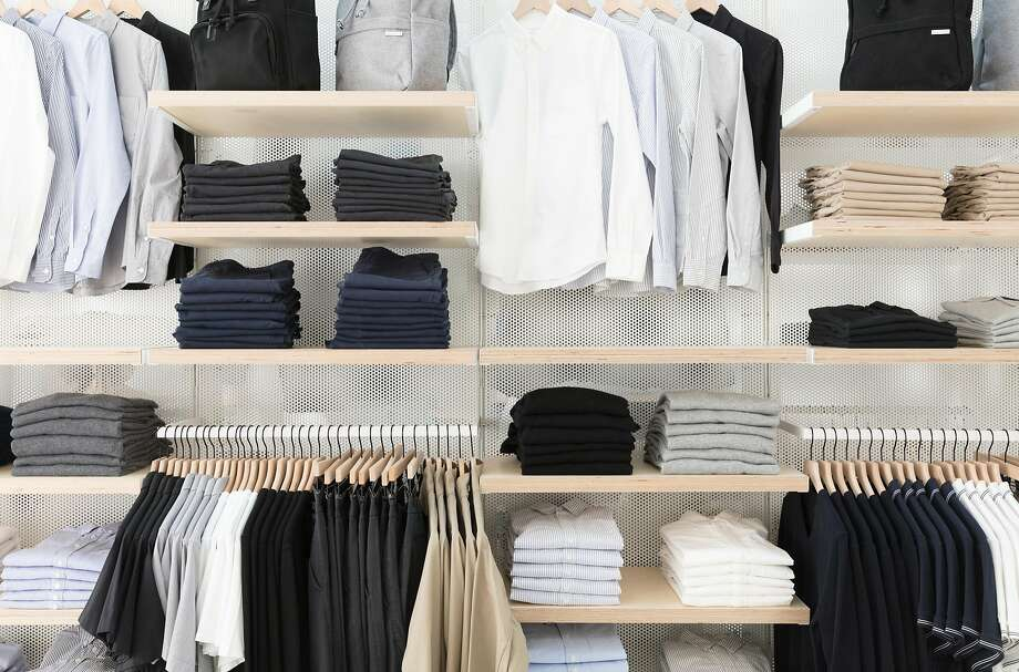 Everlane's new San Francisco store carries nearly all the affordable wardrobe essentials featured online. Photo: Aaron Wojack / Everlane
