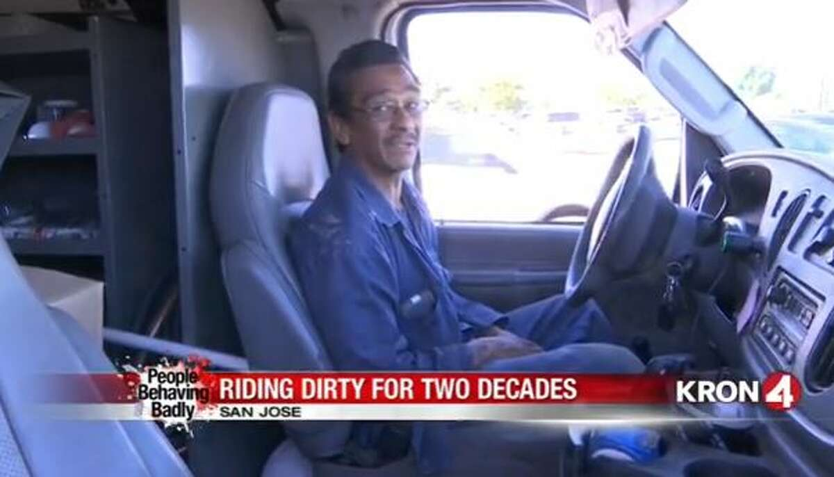 21 years on a suspended license - Cheating in the carpool lane when you are late to work is tempting, but it's still against the law. When you've been driving without a license for more than two decades, you just aren't going to get any sympathy from the CHP or your boss. Watch the story of the carpool cheat who lost his licence