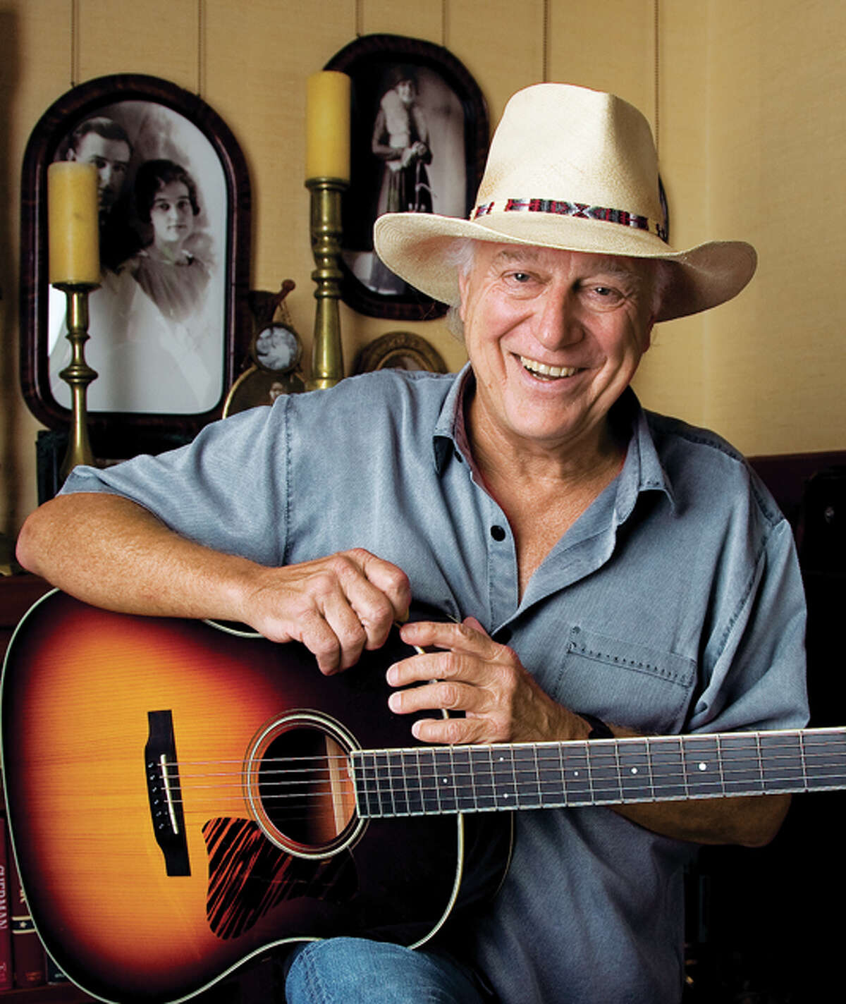 Country singer Jerry Jeff Walker, who wrote the pop song