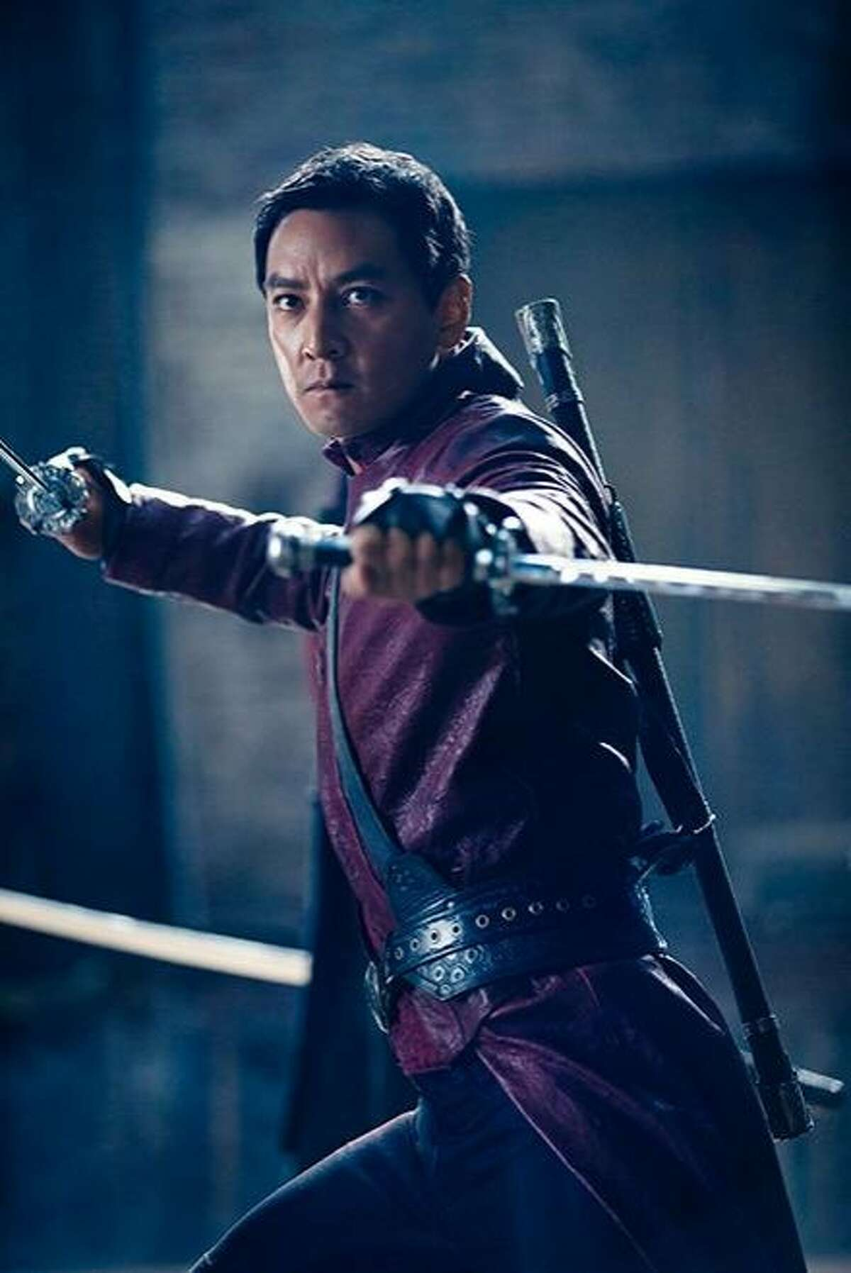 Daniel Wu stars as Sunny in Into the Badlands: A warrior and a young boy seek enlightenment in this martial arts-themed series debuting Nov. 15 on AMC