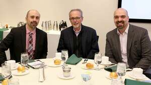 Were you Seen at the Vicarious Visions-sponsored Leadership Luncheon event at the Hearst Media Center on Feb. 28, 2018, with  Proctors CEOPhilip Morris, PalaceExecutive Director Susan Rosko Fogarty and SPAC President/CEO Elizabeth Sobol ?