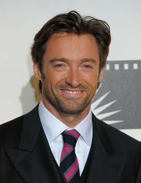 Hugh Jackman stands in for Siri, and the caller swoons. Photo: Charley Gallay, Getty Images