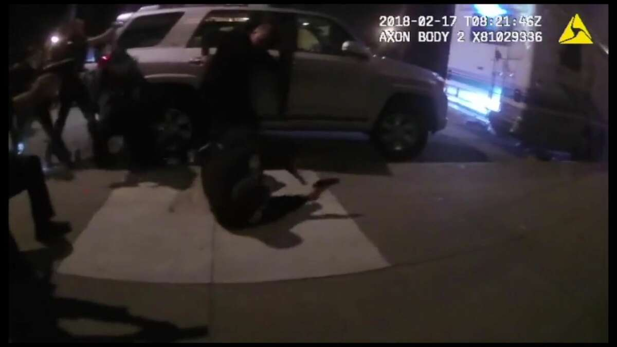 San Francisco police released body-worn camera footage and the names of the seven officers involved in a shooting in the Design District on Feb. 17th.