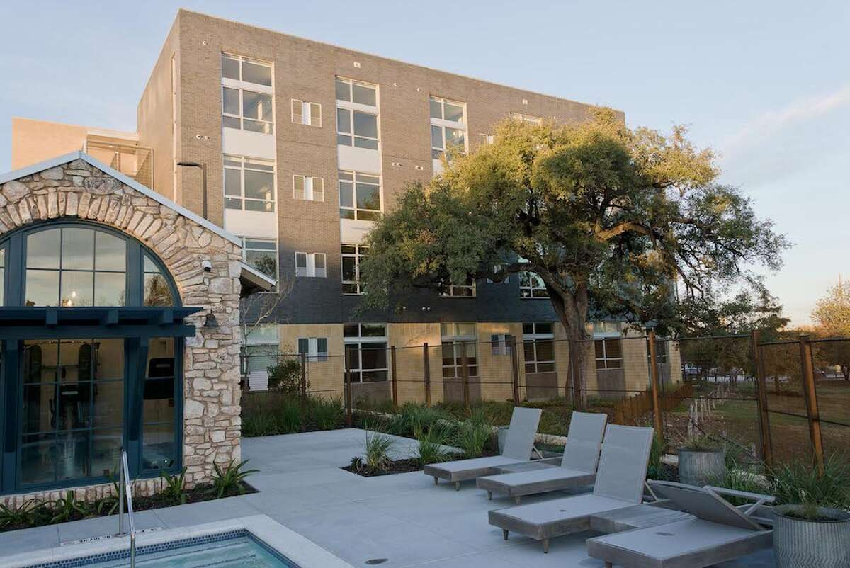 The Eight Forty, a new apartment complex in the heart of San Antonio, is built on the site of the old Brackenridge Stables and is within walking or biking distance to some of the Alamo City's top attractions.
