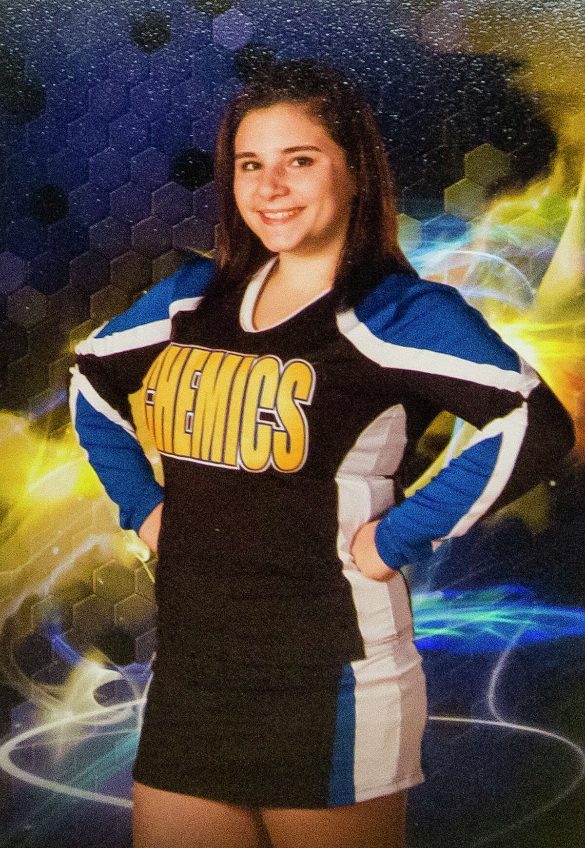 Amedy Dewey, 18, attended Midland High and is still recovering from injuries sustained in a shooting in January. During her time at Midland High, Dewey participated in competitive cheer. (Photo provided)