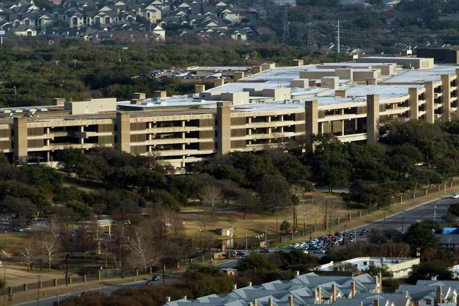 Members of the San Antonio-based financial services company USAA voted for a bylaw change that more than doubles the size of the pool of members eligible to serve on its board of directors. Pictured is USAA's headquarters in this February aerial photo.