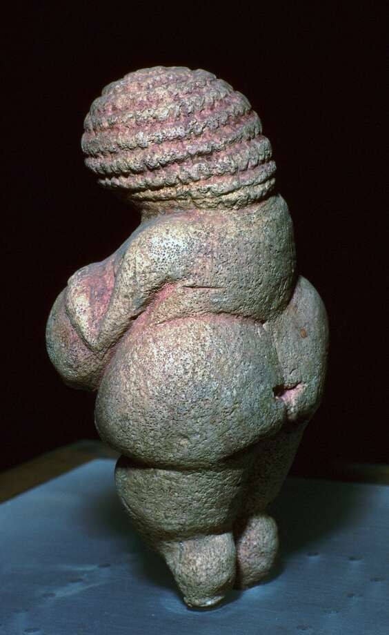 Willendorf Venus, a paleolithic mother-goddess figure, 23rd century BC. Photo: Print Collector/Print Collector/Getty Images