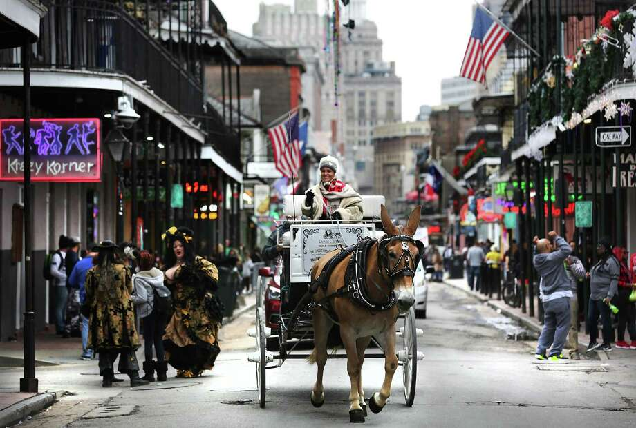 Southwest's deal offers one-way flights to New Orleans, home to Bourbon Street in the French Quarter, from $91. Photo: Bob Owen /San Antonio Express-News / ©2017 San Antonio Express-News