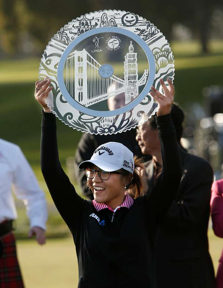 Lydia Ko beat Morgan Pressel in a playoff at the Swinging Skirts LPGA Classic at Lake Merced Golf Club in 2015. Photo: Michael Macor, The Chronicle