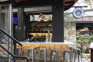 On The Bend Oyster Bar & Lounge is located at 123 Losoya St., Suite 7, along the River Walk in the Hyatt Regency hotel.