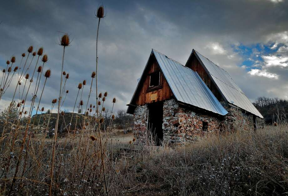 A spring house in the Horseshoe Ranch Wildlife Area in the Cascade-Siskiyou National Monument outside of Copco, Calif., on Wednesday, February 21, 2018. The monument, expanded in the final year of the Obama administration, but under the Trump administration, the park is at risk of being reduced and once-protected land opened to lumber harvesting and motorized vehicles. Photo: Carlos Avila Gonzalez, The Chronicle