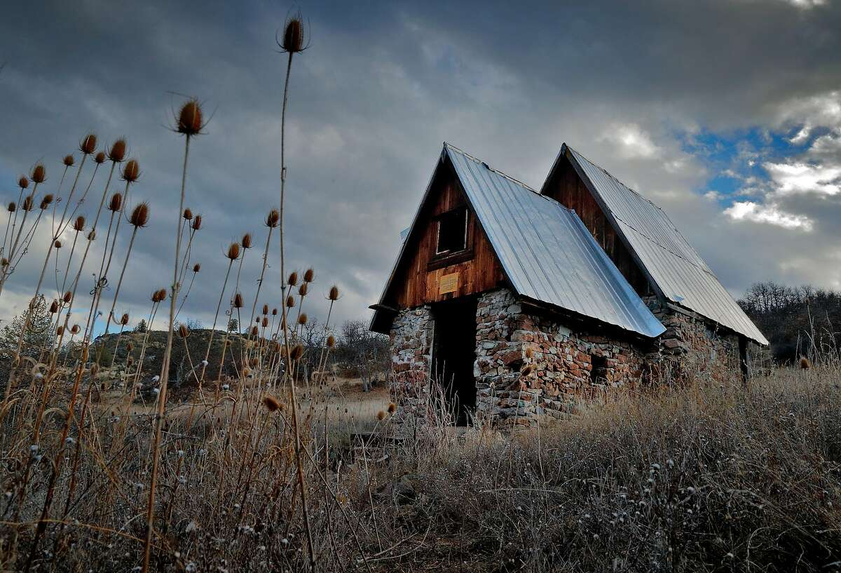 A spring house in the Horseshoe Ranch Wildlife Area in the Cascade-Siskiyou National Monument outside of Copco, Calif., on Wednesday, February 21, 2018. The monument, expanded in the final year of the Obama administration, but under the Trump administration, the park is at risk of being reduced and once-protected land opened to lumber harvesting and motorized vehicles.