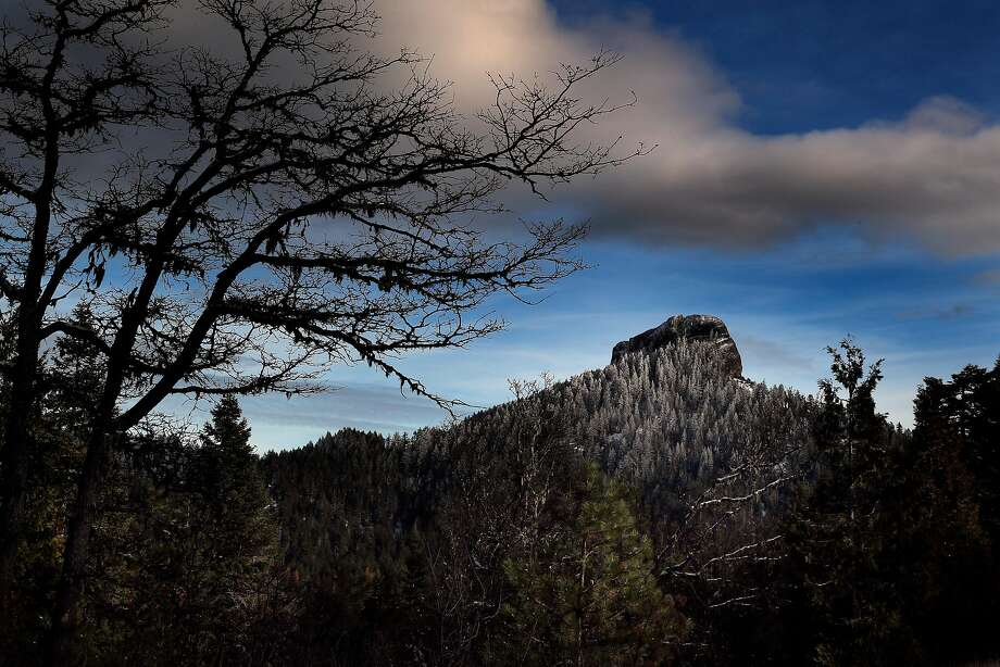 Pilot Rock lies in Cascade-Siskiyou monument, which was expanded by President Barack Obama but now faces possible reduction under President Trump. Photo: Carlos Avila Gonzalez, The Chronicle