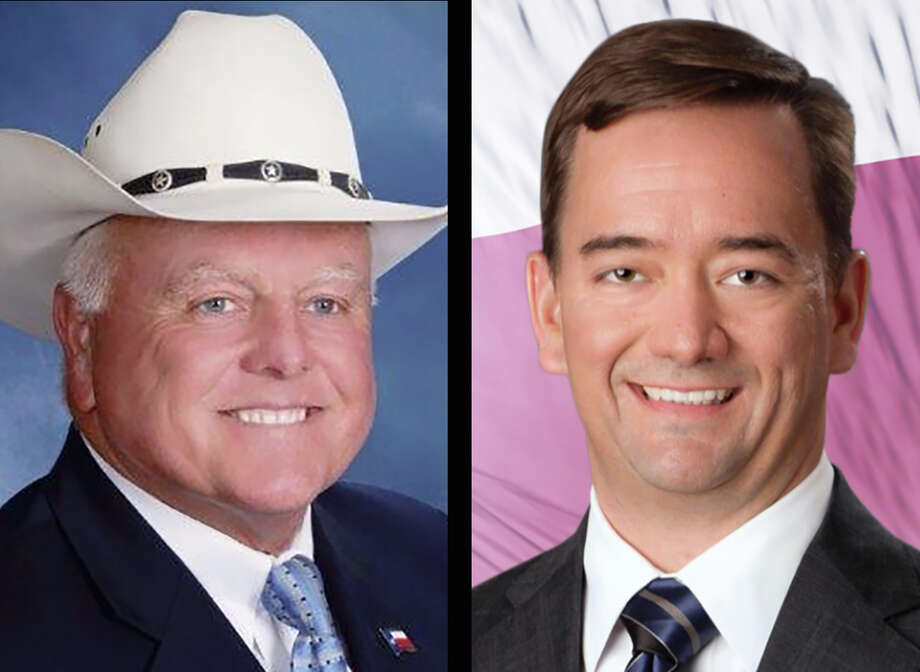 Sid Miller, left, and Trey Blocker, right, are two Republican candidates for Texas Agriculture Commissioner. Photo: Courtesy Photos / Courtesy photos