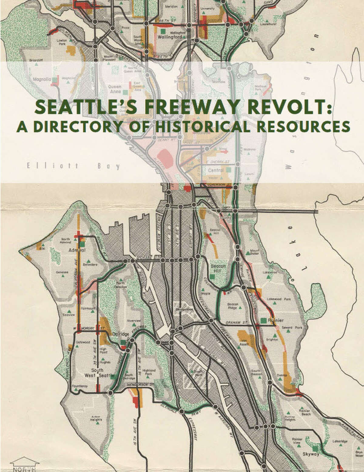 A bevy of freeways would have smashed through several Seattle neighborhoods had it not been for the efforts of activists fighting against it in what came to be called the Seattle freeway revolt. Now, it's much easier to study the history of the movement in this directory recently created.