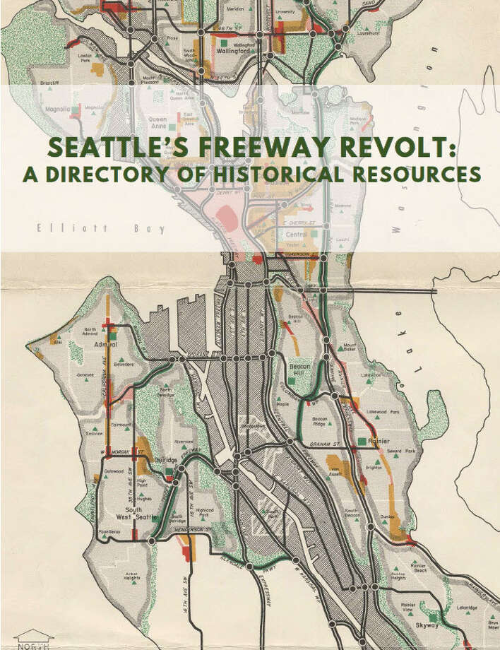 A bevy of freeways would have smashed through several Seattle neighborhoods had it not been for the efforts of activists fighting against it in what came to be called the Seattle freeway revolt. Now, it's much easier to study the history of the movement in this directory recently created. Photo: Seattle Public Library