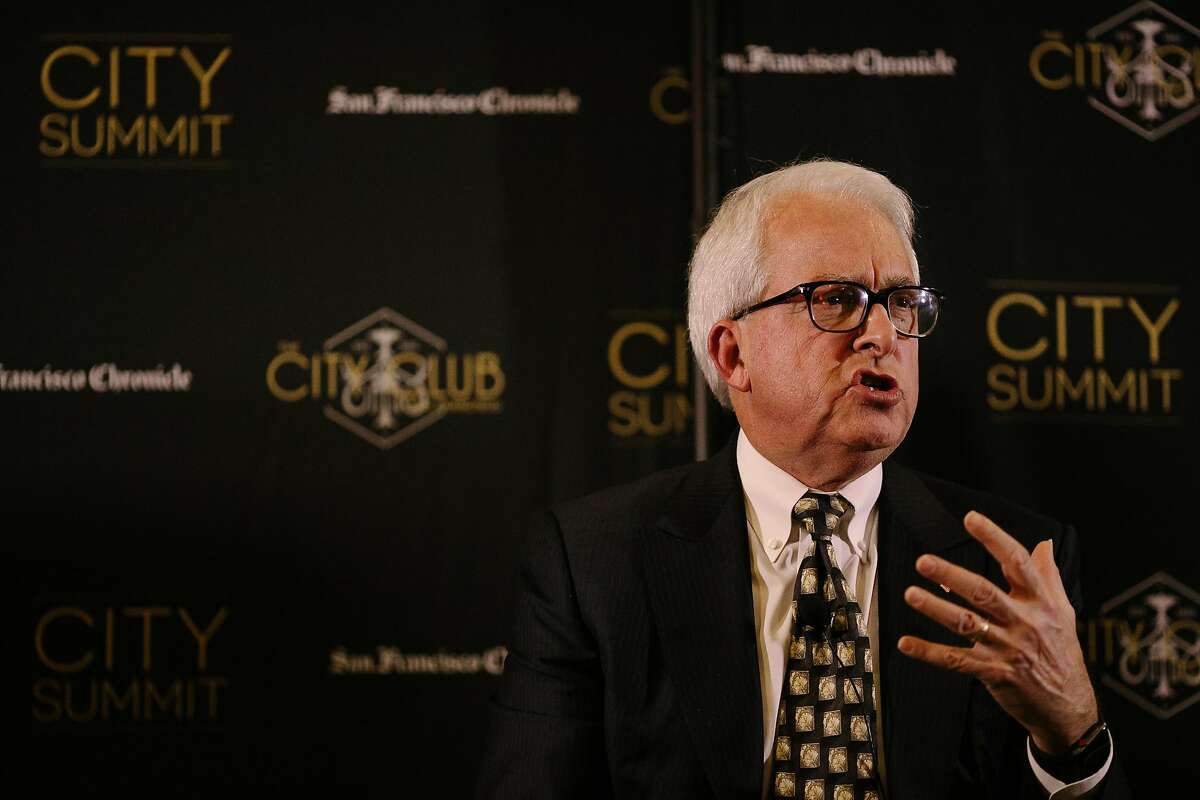 John Cox speaks during the City Summit of Republican Candidates for Governor's Formal Discussion at the City Club of San Francisco in San Francisco, Calif. Tuesday, Feb. 6, 2018.
