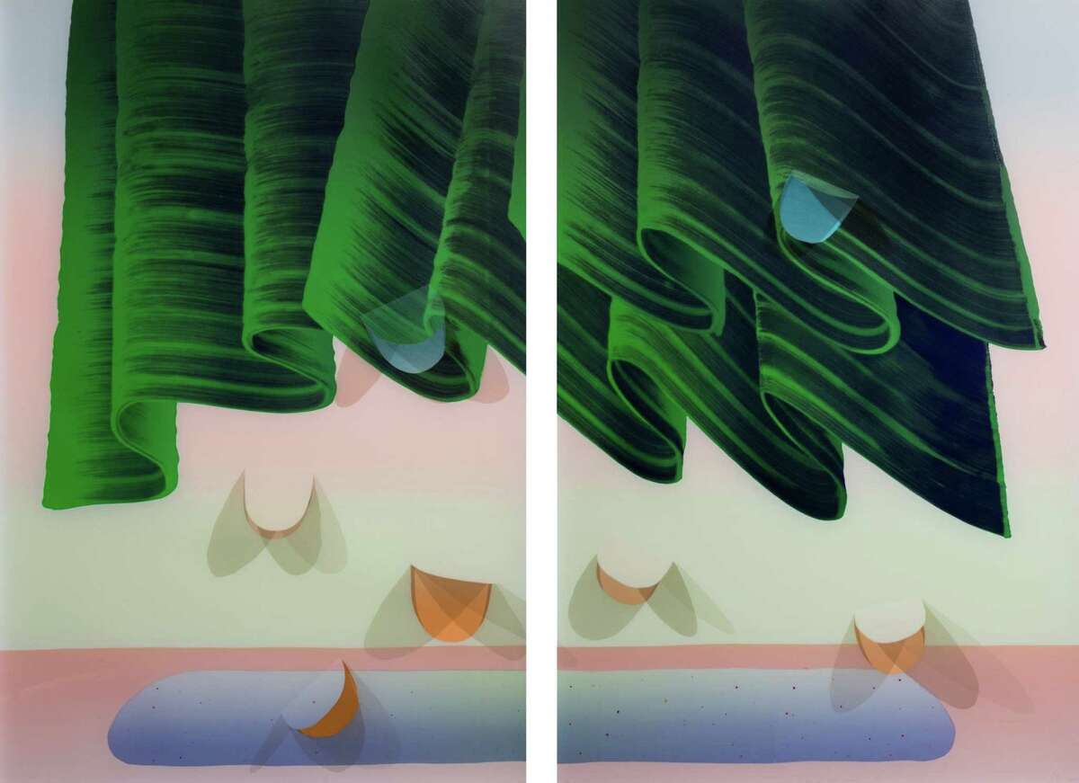 """""""Future Castles,"""" an exhibit of Jeffrey Dell's screen prints, is opening at Three Walls."""