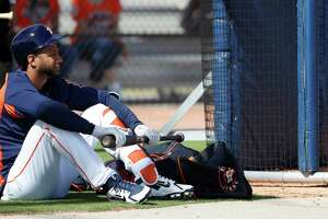 Due to his surgery and a suspension he'll have to serve once he's activated, Yuli Gurriel will sit out the season's first 17 games or so.