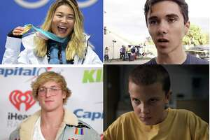 Chloe Kim, David Hogg, Logan Paul and Millie Bobby Brown are all members of Generation Z.