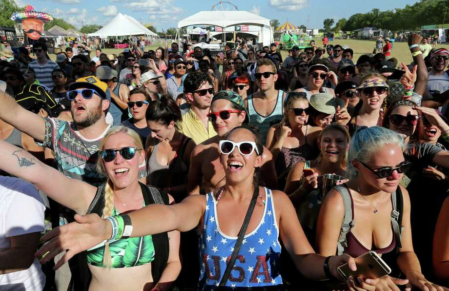 Music fans attend Float Fest held at Cool River Ranch Sunday July 17, 2016 in Martindale, Tx. Photo: Edward A. Ornelas, Staff / San Antonio Express-News / © 2016 San Antonio Express-News