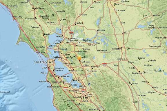 A 2.5-magnitude earthquake struck one mile northwest of Danville Wednesday evening, according to the USGS.