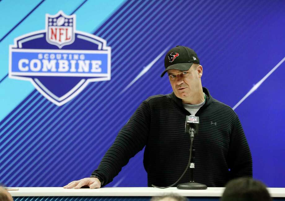 Houston Texans head coach Bill O'Brien speaks during a press conference at the NFL football scouting combine, Wednesday, Feb. 28, 2018, in Indianapolis. (AP Photo/Darron Cummings) Photo: Darron Cummings, STF / Copyright 2018 The Associated Press. All rights reserved.