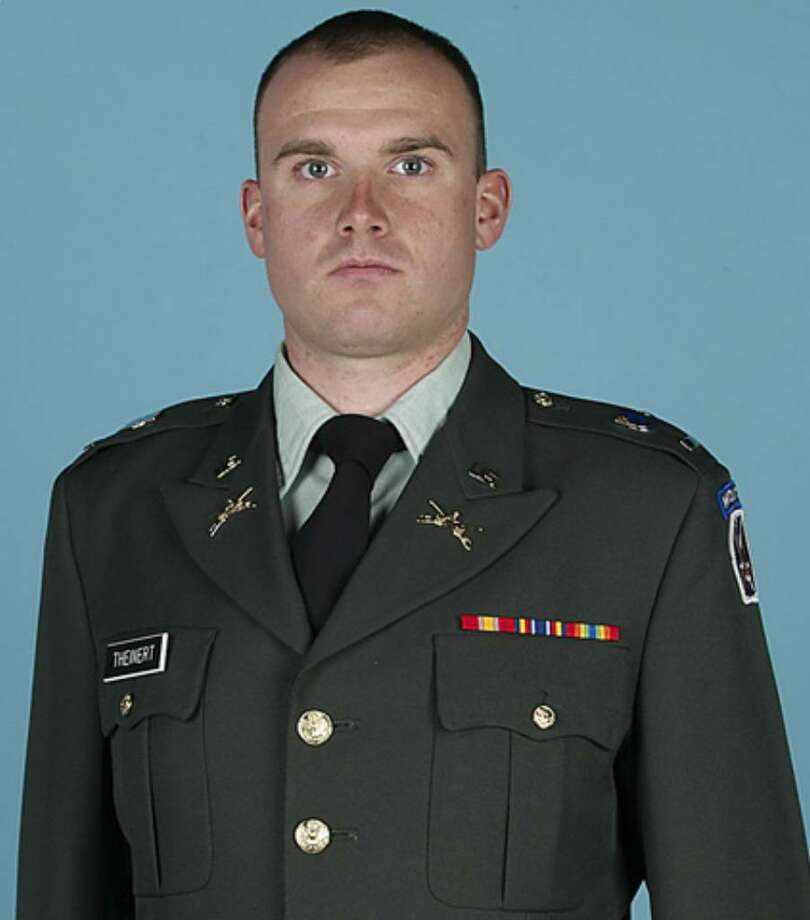 First Lieutenant Joseph J. Theinert was killed by a roadside bomb Friday, June 4. (Photo provided by Siena College)