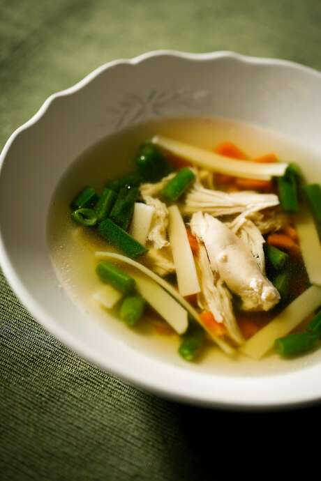 Classic Chicken Chicken Soup. Photo: Russell Yip, The Chronicle