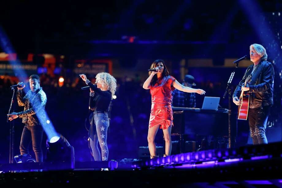 Little Big Town performs during Round 2 of Super Series I at the Houston Livestock Show and Rodeo Wednesday, Feb. 28, 2018 in Houston. Photo: Michael Ciaglo, Houston Chronicle / Michael Ciaglo