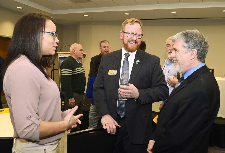 """Were you Seen at the """"A New Battle Plan: How Veterans Prepare for Life After the Military"""" event, presented by the Veteran Center at The College of Saint Rose, at The Hearst Media Center in Albany, NY, on Wednesday, February 28, 2018? Photo: Colleen Ingerto / Times Union"""