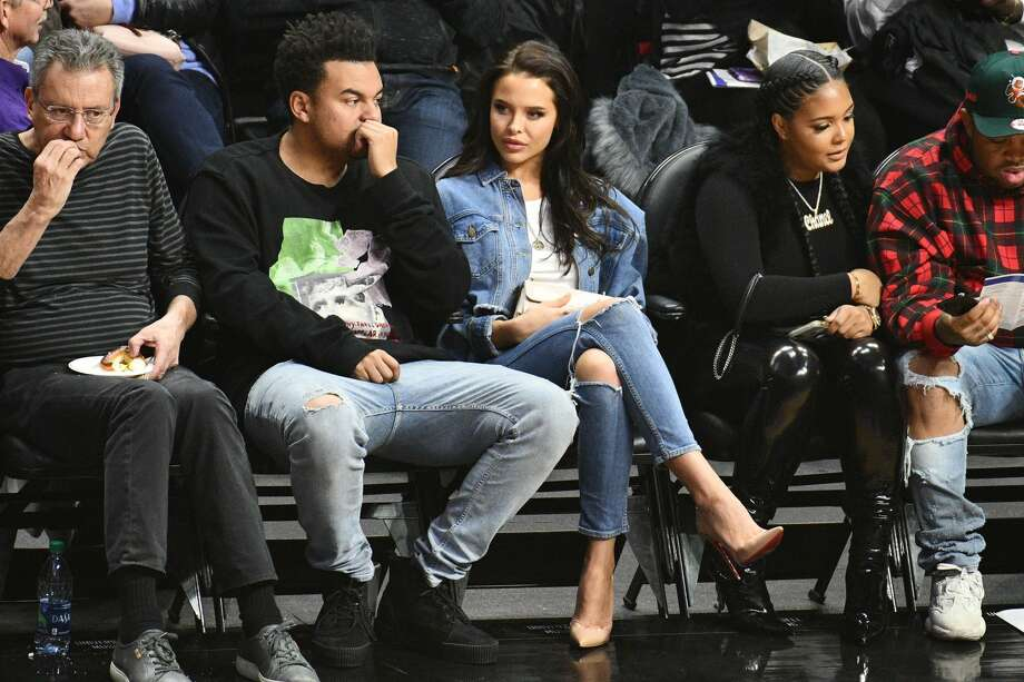 LOS ANGELES, CA - FEBRUARY 28:  Model Mara Teigen attends a basketball game between the Los Angeles Clippers and the Houston Rockets at Staples Center on February 28, 2018 in Los Angeles, California.  (Photo by Allen Berezovsky/Getty Images) Photo: Allen Berezovsky/Getty Images