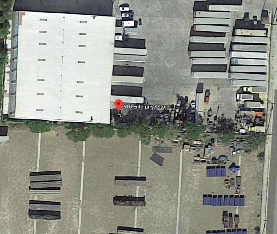 A man died after being crushed by a large steel cylinder on Tuesday. The accident was reported at M&M Carriers. Photo: Google Maps