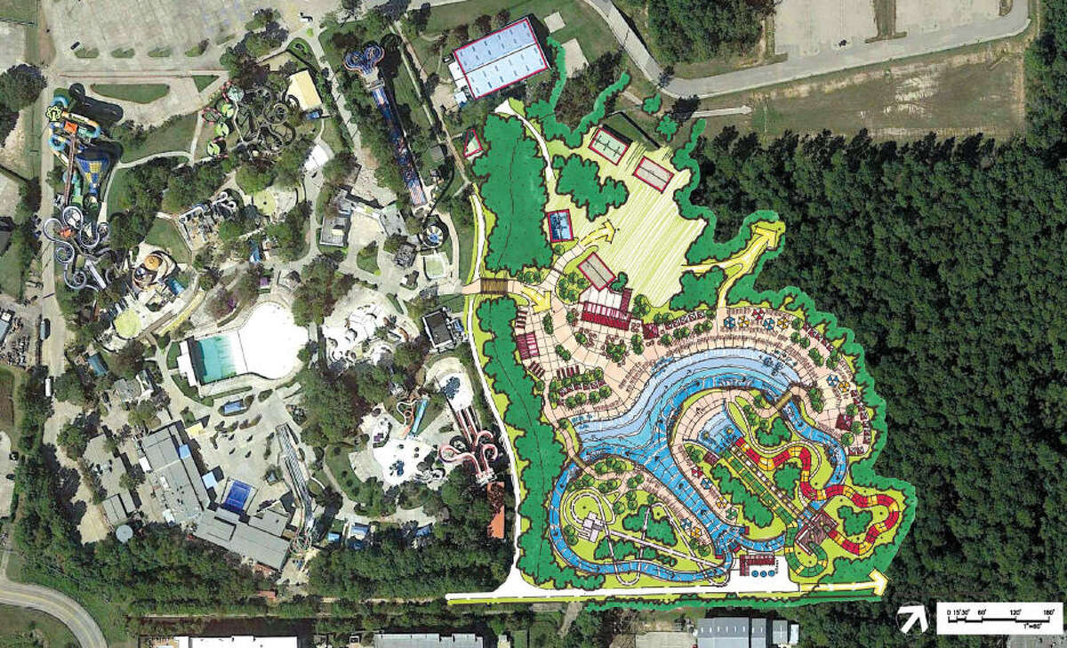 Spring's Wet'n'Wild SplashTown waterpark has been a mainstay in the area for decades and this week its owners announced plans for a major expansion. See more photos from inside the park...