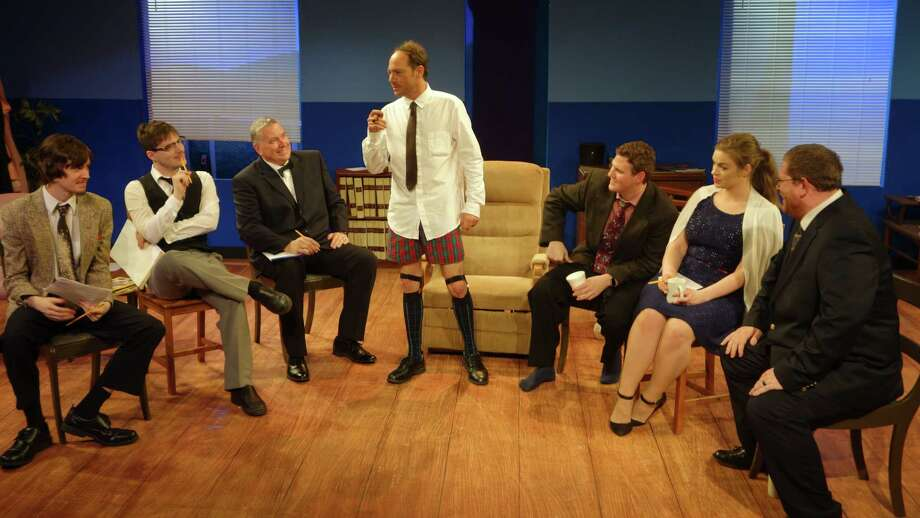 "A man in underpants isn't such as shocking site in  Clear Creek Community Theater's production of Neil Simon's ""Laughter on the 23rd Floor."""