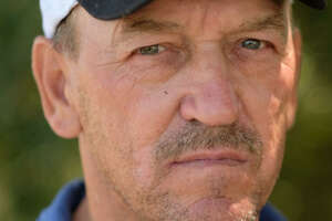 """Troy Landry from History Channel's """"Swamp People."""""""