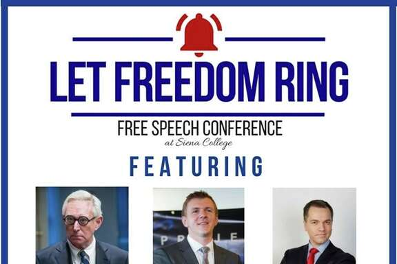Two Siena Republican organizations will host a free speech conference on April 15.