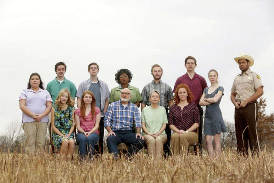 """The cast of """"August: Osage County,"""" directed by Andrea Urice. (Photo: Jerry Naunheim Jr./Washington University) Photo: For The Edge / jerry@jerrynaunheim.comwww.jerrynaunheim.com"""