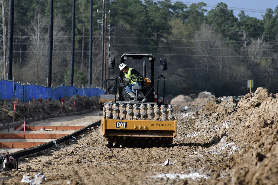 The expansion of Townsen Boulevard near FM 1960 continues on Feb. 28, 2018. (Photo by Jerry Baker/Freelance) Photo: Jerry Baker, Freelance / Freelance