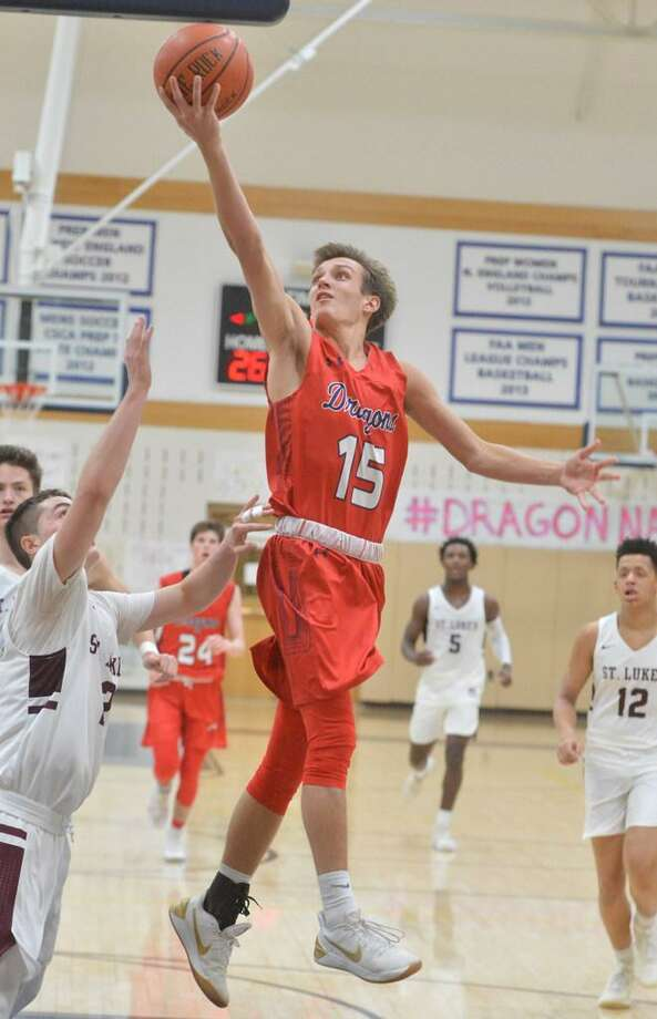 Henry Holzinger was named an unanimous All-FAA selection along with teammate Cole Prowitt-Smith. Photo: Alex Von Kleydorff / Hearst Connecticut Media