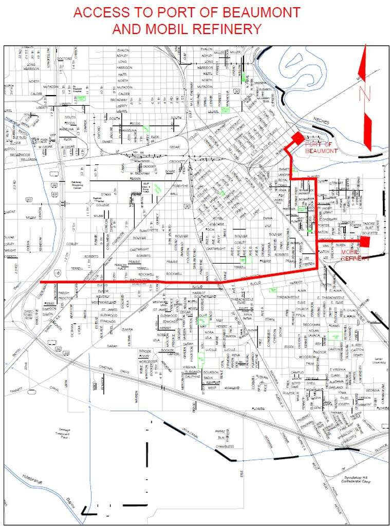 Maps The Gusher route and road closures Beaumont Enterprise