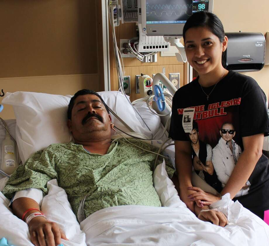 Deer Park resident Iliana Rodriguez used cardiopulmonary resuscitation to save her dad Jeronimo when he had a heart attack.