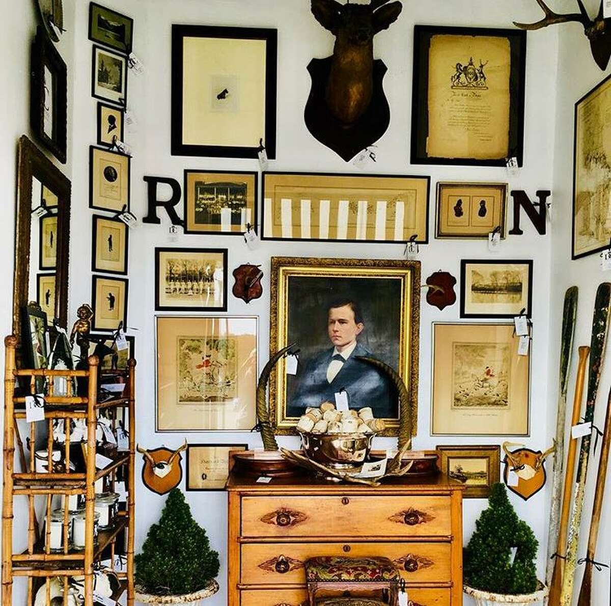 Objects give off vibrations just like people, antique dealer Chris Chervenak believes, and he has learned to trust the chemistry he feels (or doesn't feel) the moment he lays eyes on an antique or a newer piece.