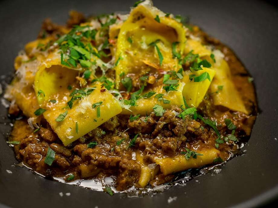 Pappardelle with beef and pork sugo ($18) at Juanita & Maude in Albany. Photo: John Storey, Special To The Chronicle