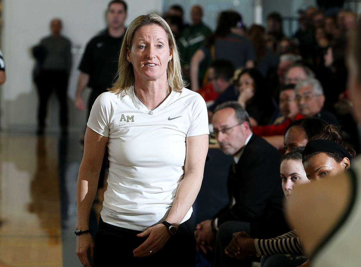 Mitty girls basketball coach Sue�Phillips on Wednesday was named the national coach of the year.