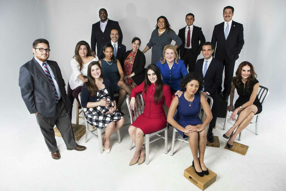 Latino candidates for public office in Harris County. ( Marie D. De Jesus / Houston Chronicle )