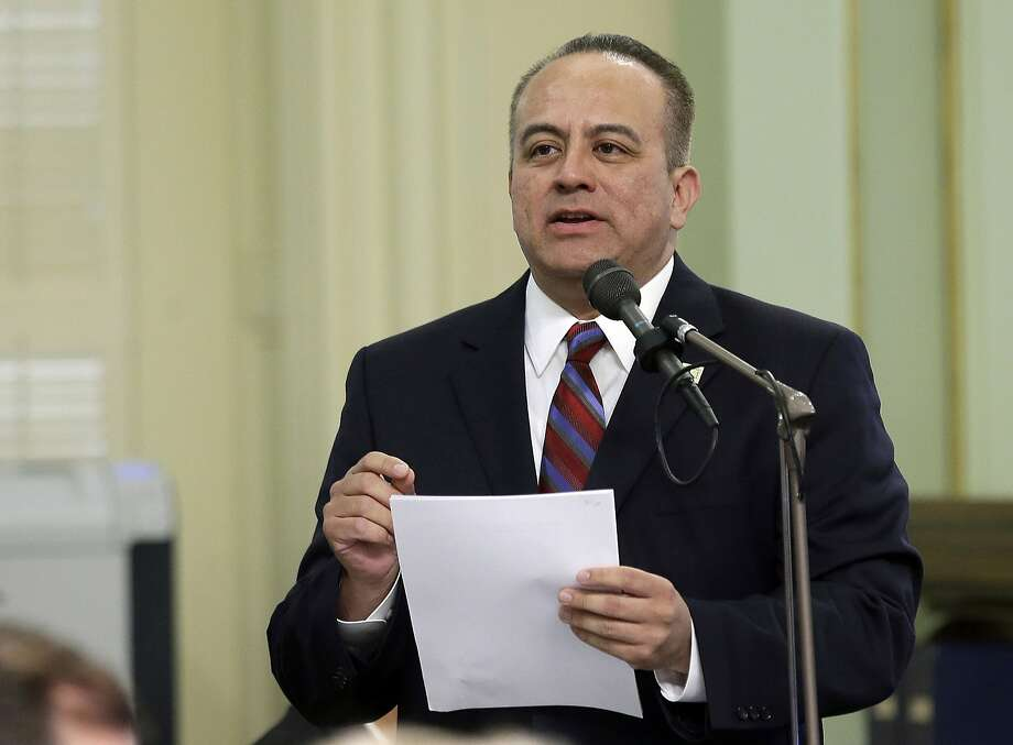An Assembly probe found Raul Bocanegra acted inappropriately. Photo: Rich Pedroncelli, Associated Press
