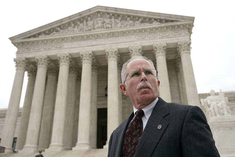Mark Janus' case over public workers' union fees is being heard by the nation's top court. Photo: Alex Wong