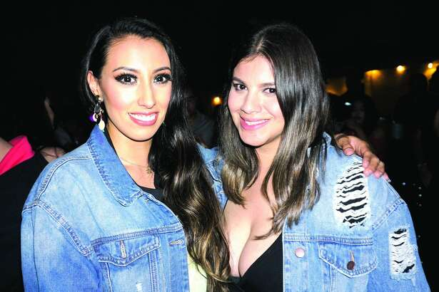 Gina Diaz and Luisa Lopez at The Happy Hour Downtown Bar Friday, March 2, 2018